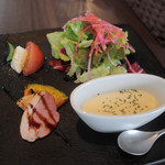 SO.TABLE KOBE 0330 - ランチ 前菜