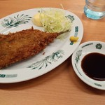 日高屋 - イワシフライ230円全景