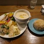 ねき - 料理写真:スーププレート