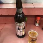 いち芳 - 瓶ビール大550円!