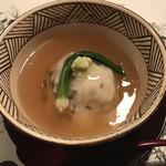 よし川 新別館 - 甘鯛と百合根の蕪蒸し