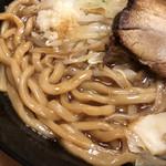 中華蕎麦 とみ田 - 太麺