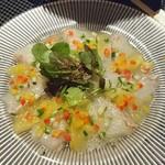 ビア ネクスト - 真鯛のカルパッチョ