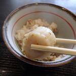甘味茶屋ぶんご - ホタテ