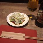 隆麺 - 水餃子