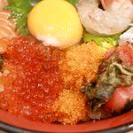 すし処 香味岡 - 20190129漬け丼・アップ2
