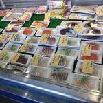 嶋津鮮魚店 - 内観