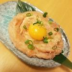 産直仕入れの北海道定食屋 北海堂 - 鮭トロユッケ  386円