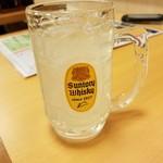 産直仕入れの北海道定食屋 北海堂 - レモンサワー 162円