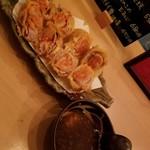 ゆるり家 - 豚キムチ天ぷら 750円
