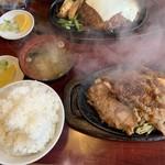 レストラン喫茶 タクト - ジュージュー焼定食¥980