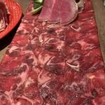 100972330 - タンしゃぶ肉。