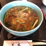 100973156 - 山菜うどん♪ 山菜たっぷりぃ〜♪