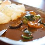 ハッピーハッピーカレー - 野菜カレーL(¥880税込み)