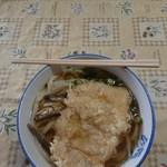 宮川製麺所 - うどん(小)ととり天