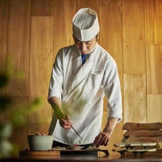 旬の食材から最大限の美味しさを引出す料理人