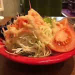 100979333 - サラダはミニではなくビッグポーション!ドレッシングが美味い
