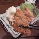 マゴコロ - 琵琶湖から泳いできたわかさぎの天ぷら三重県産牡蠣フライ