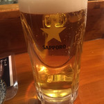 100981832 - 1人寂しく飲むビールも美味いよねー( ̄▽ ̄)