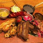 アロハテーブル - メインの肉プレート