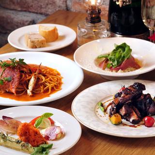 生まれ育った町の食材で作る日本人の為のイタリア料理