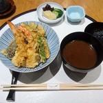 てんぷら 山の上 - 小天丼 ¥1944