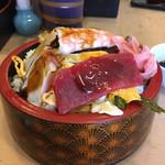 鮨処 一真 - 料理写真:京風ちらし 大   ¥700