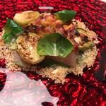 100988665 - 金目鯛の焼き締め作りとジャガイモのクランブル