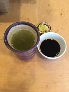 鮨処 一真 - 新茶です  ^ ^
