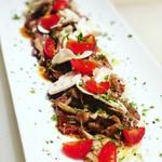 イタリアンバル TAO - 料理写真:牛肉とキノコのタリアータ