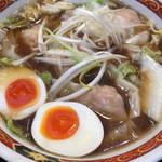 しお福 - 味玉わんたんめん(醤油/細麺)