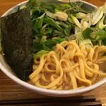 ちかみちらーめん - 味噌らーめんは平打ち麺(2019年1月)