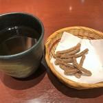 そばDining 結月庵 - そば茶&そばかりんとう