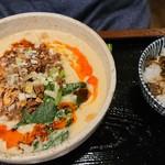 華や - 麺セット(担々麺変更)