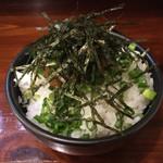 麺屋てっぺん - 明太子丼 ミニ(300円)