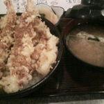 天ぷら桂 - 天丼