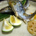 草太郎庵 - 山女魚の塩焼