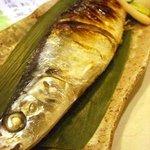 酒菜 和寿 - 新サンマ塩焼 ¥750