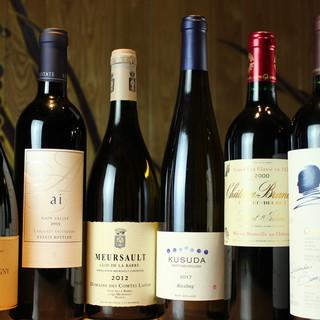バラティ豊かな世界各国のワインをお楽しみください!!!