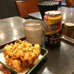 ゆで太郎 - 料理写真:冬のゆで呑みセット460円