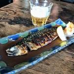 炭焼き ミンナミ食堂 - サバ文化干し