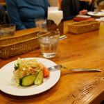 ツナパハ+2 - セットのサラダ。
