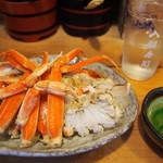 入船寿司 - 料理写真:津居山産セコガニあて