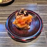耳 - 干し柿蕎麦味噌
