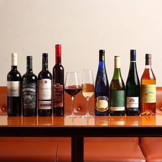 ワインは全て試飲可能♪