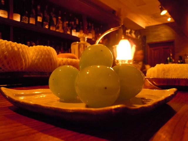 ル テアトル - ■おつまみのブドウ