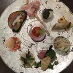 zafunatsuya - 前菜10種