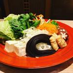 楽待庵 - お野菜