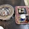 はしだて茶屋 - 料理写真:七輪で貝焼き~♪