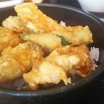 牡蠣屋うらら - カキ天丼